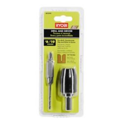 RYOBI #8 and #10 Titanium Drill and Driver (2-Piece)