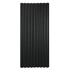 Sheet 36 Inch X 79 Inch Black