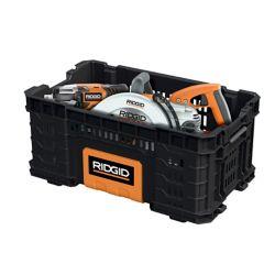 RIDGID 22-Inch Pro Box Tool Bin in Black