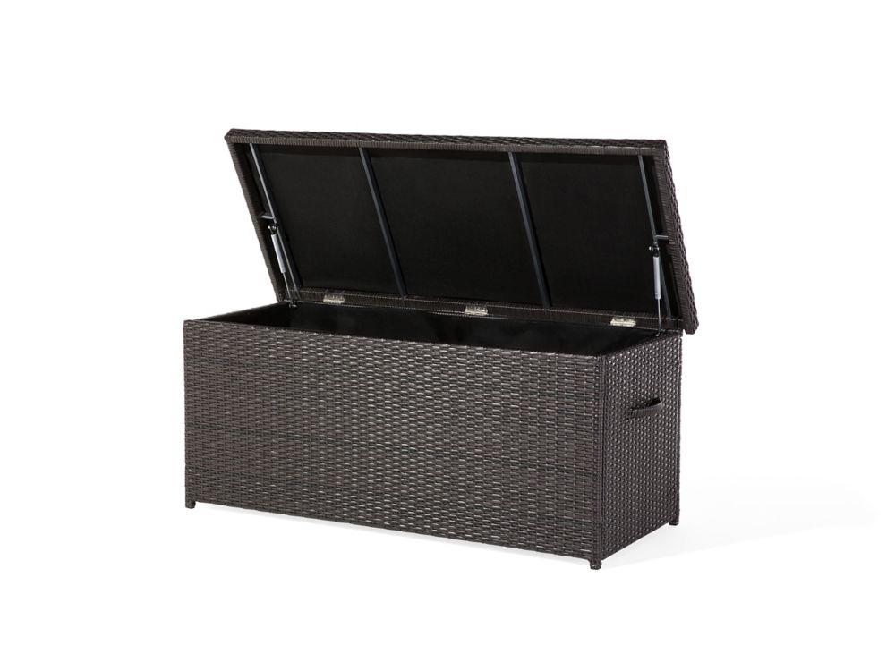 Resin Wicker Storage Box for Cushions - Garden & Patio - MODENA 130