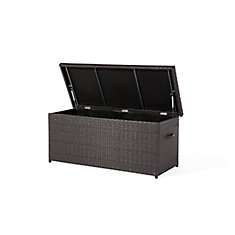Cassone 13.3 cu. ft. All-Weather Wicker Patio Storage Deck Box