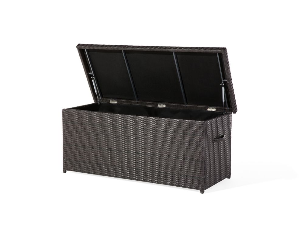 Resin Wicker Storage Box for Cushions - Garden & Patio - MODENA 130