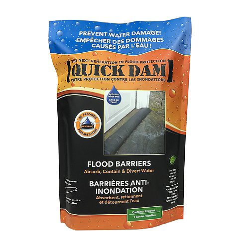 Quick Dam 5 ft. Flood Barrier (1-Pack)