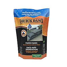 Quick Dam Water Activated Flood Bags (2-Pack)