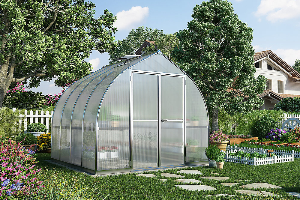 Admirable Bella 8 Ft X 8 Ft Greenhouse Home Remodeling Inspirations Gresiscottssportslandcom