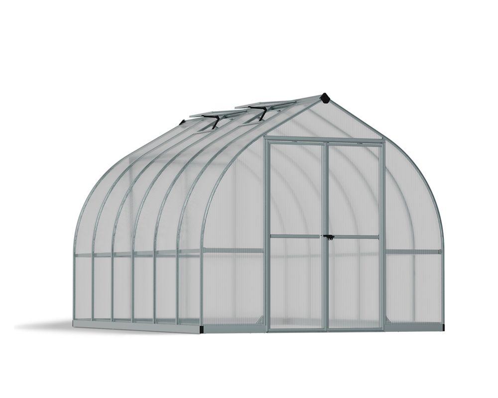 8 Feet x 12 Feet Bella Greenhouse