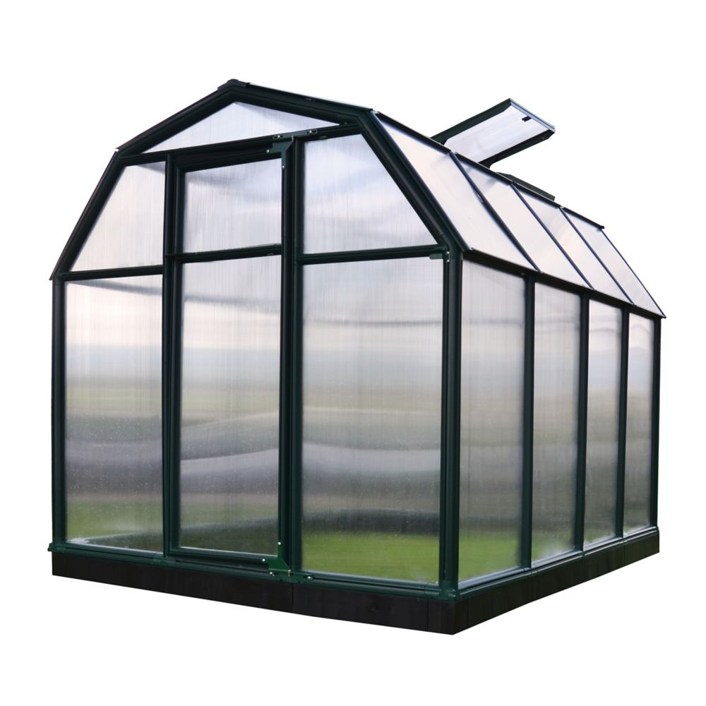 6 Feet x 8 Feet EcoGrow Greenhouse