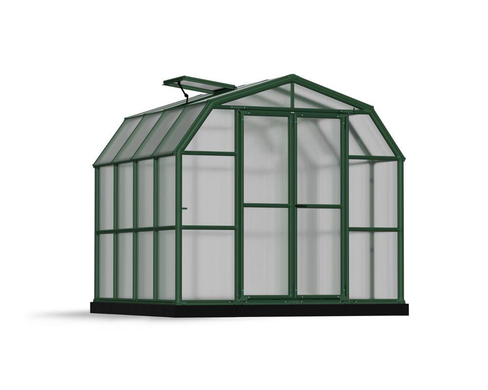 RION Premium Grand Gardener 8 1/2 ft. x 8 1/2 ft. Greenhouse