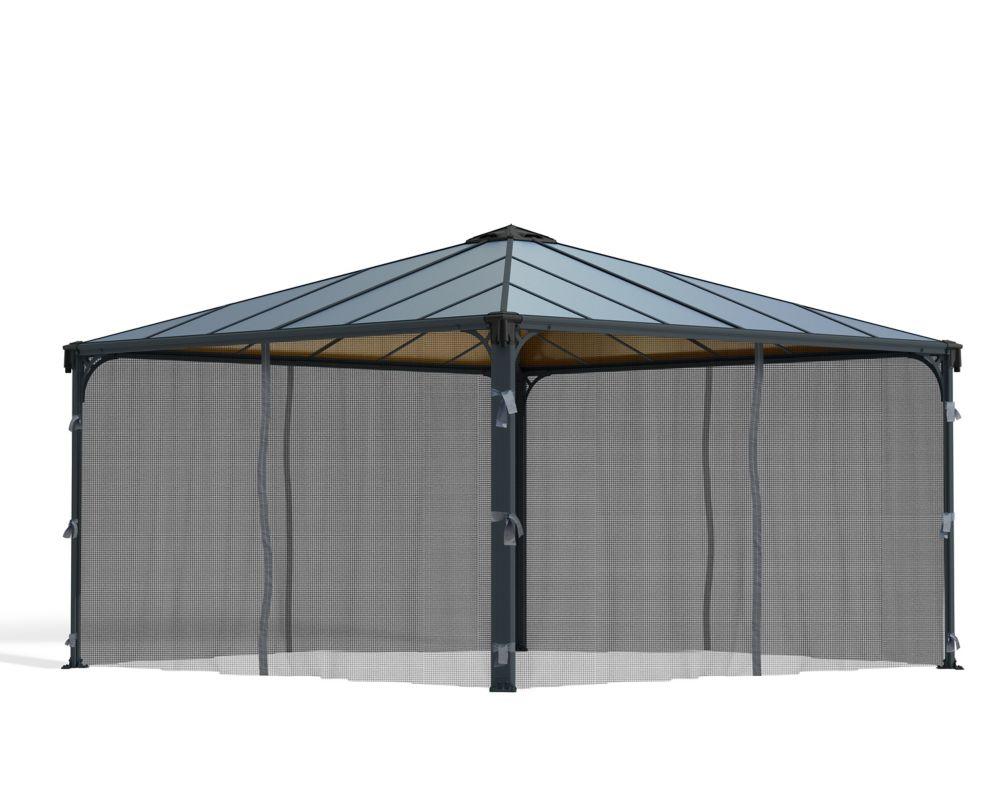 Palram Palermo Gazebo Mosquito Netting