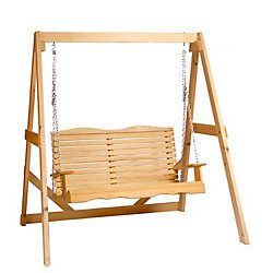 Country Comfort Chairs Cape Cod Porch Swing with Frame