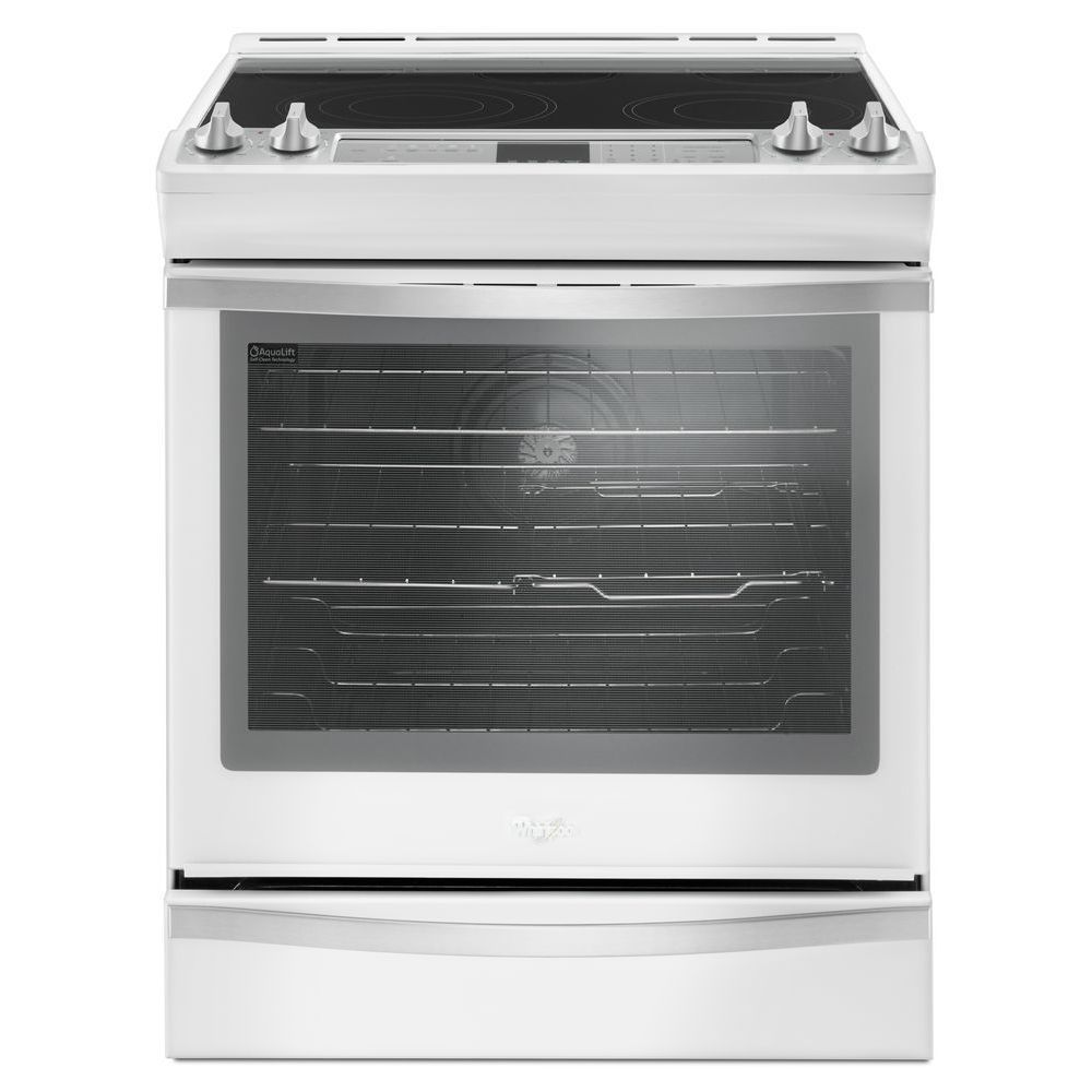 6.4 cu. Feet  Slide-In Electric Range with TimeSavor Plus True Convection