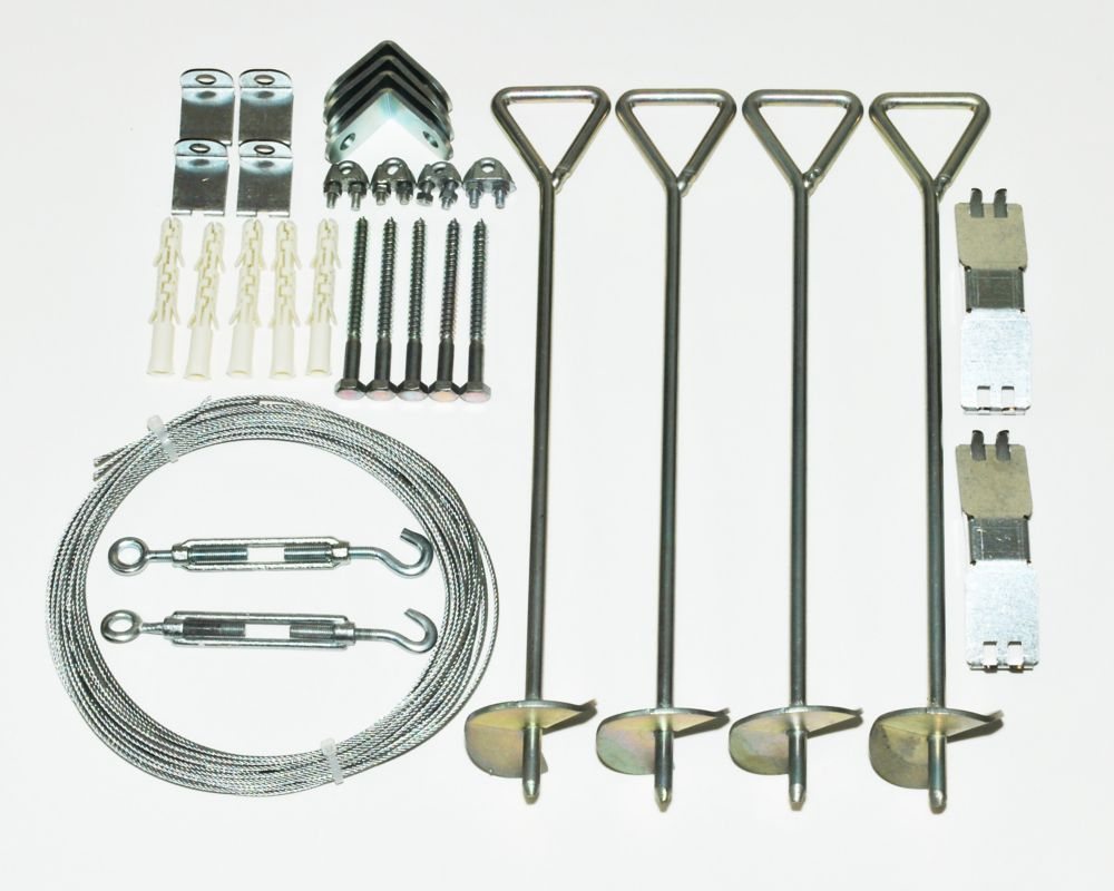 Palram Anchoring Kit for Snap & Grow Greenhouses