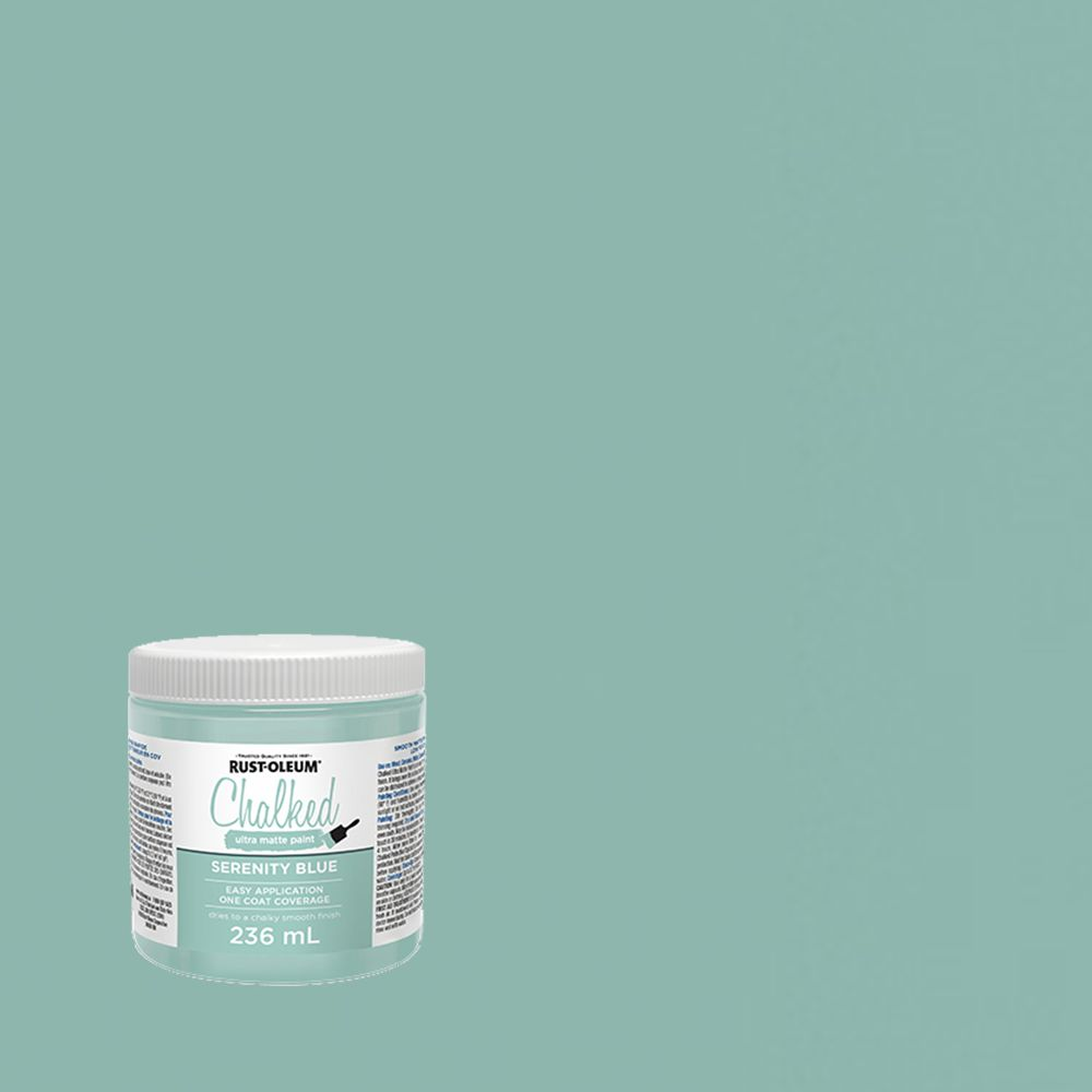 Chalked Paint Serenity Blue 236ml