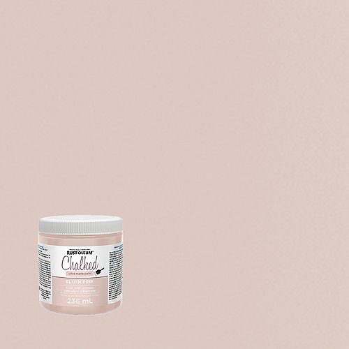 Rust-Oleum Chalked Ultra Matte Paint In Blush Pink, 236 Ml