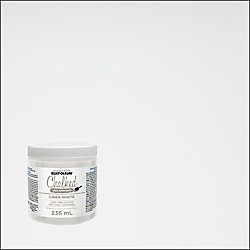 Rust-Oleum Chalked Ultra Matte Paint In Linen White, 236 Ml