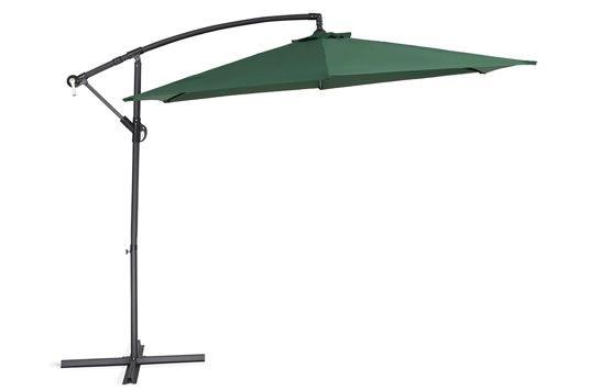 Steel Parasol - Sunshade UV and rain resistant - Garden Umbrella - Metal -  green