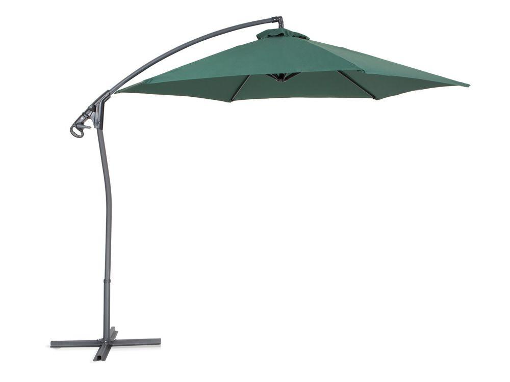 Cantilever Garden Parasol - Side Post Umbrella - ASTI II  Green