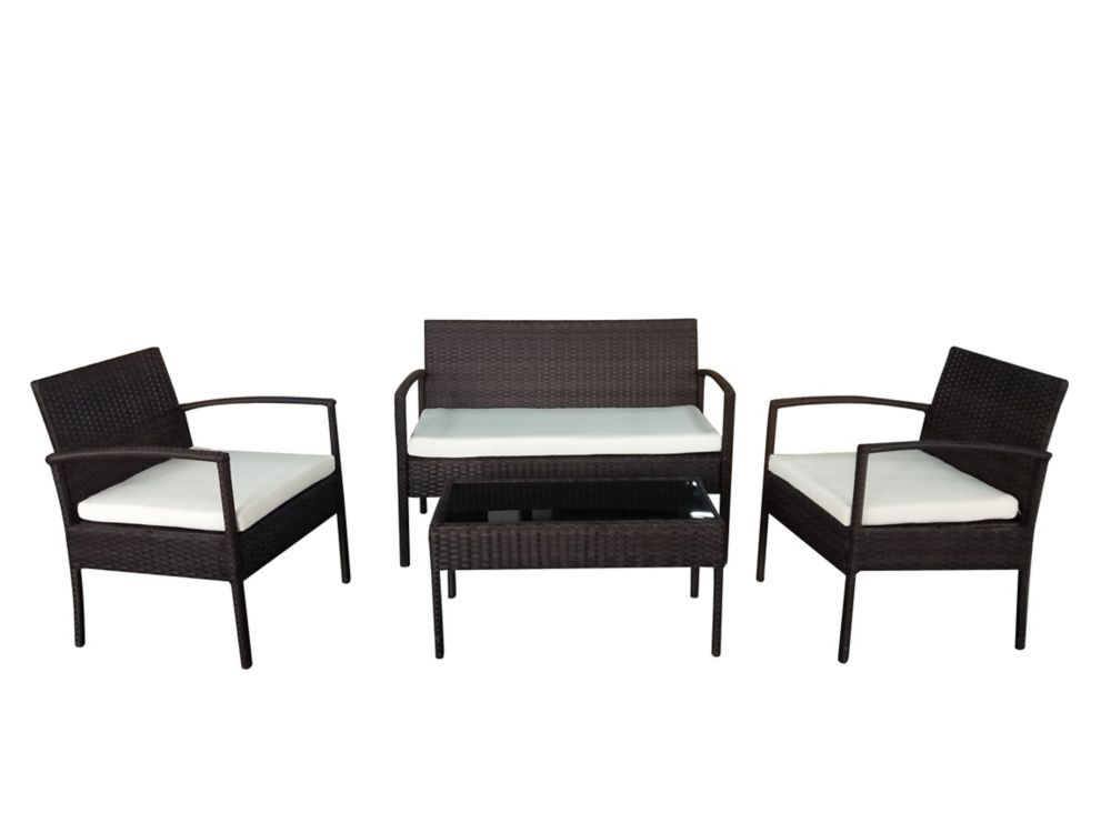 Wicker Garden Furniture - Outdoor Conversation Set - TIVOLI