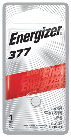 Energizer 377 Watch 1 Pack