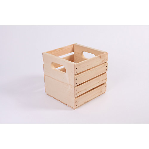 9.5 Inchx9.5 Inchx9.5 Inch  Pine  Crate
