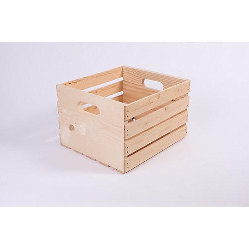 14.75 Inch x13 Inch x9.5 Inch Pine Crate