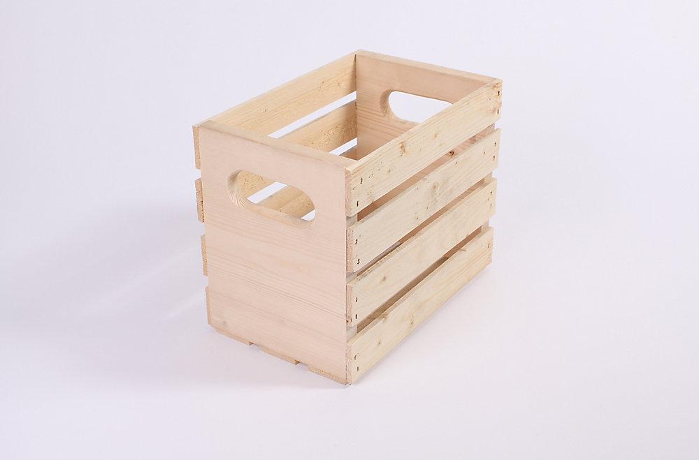 Caisse de pin 12 po x 7,5 po x 9,5 po