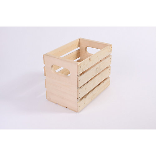 12 Inchx7.5 Inchx9.5 Inch  Pine  Crate