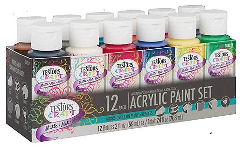 La peinture acrylique dartisanat