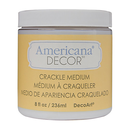 Americana Crackle Medium 8oz Clear