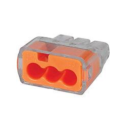 IDEAL 3 Orfice Connecteurs de Fils Par Insertion - 100 Qte