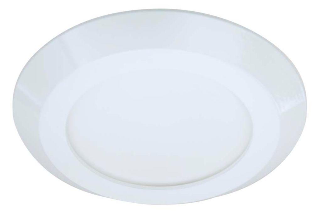 Garniture affleurante Halo 5/6 po à DEL, blanc, 1200 lumens, 4000K
