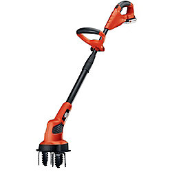 BLACK+DECKER 7-inch 20V MAX Lithium-Ion Cordless Garden Cultivator/Tiller with 1.5Ah Battery and Charger Included