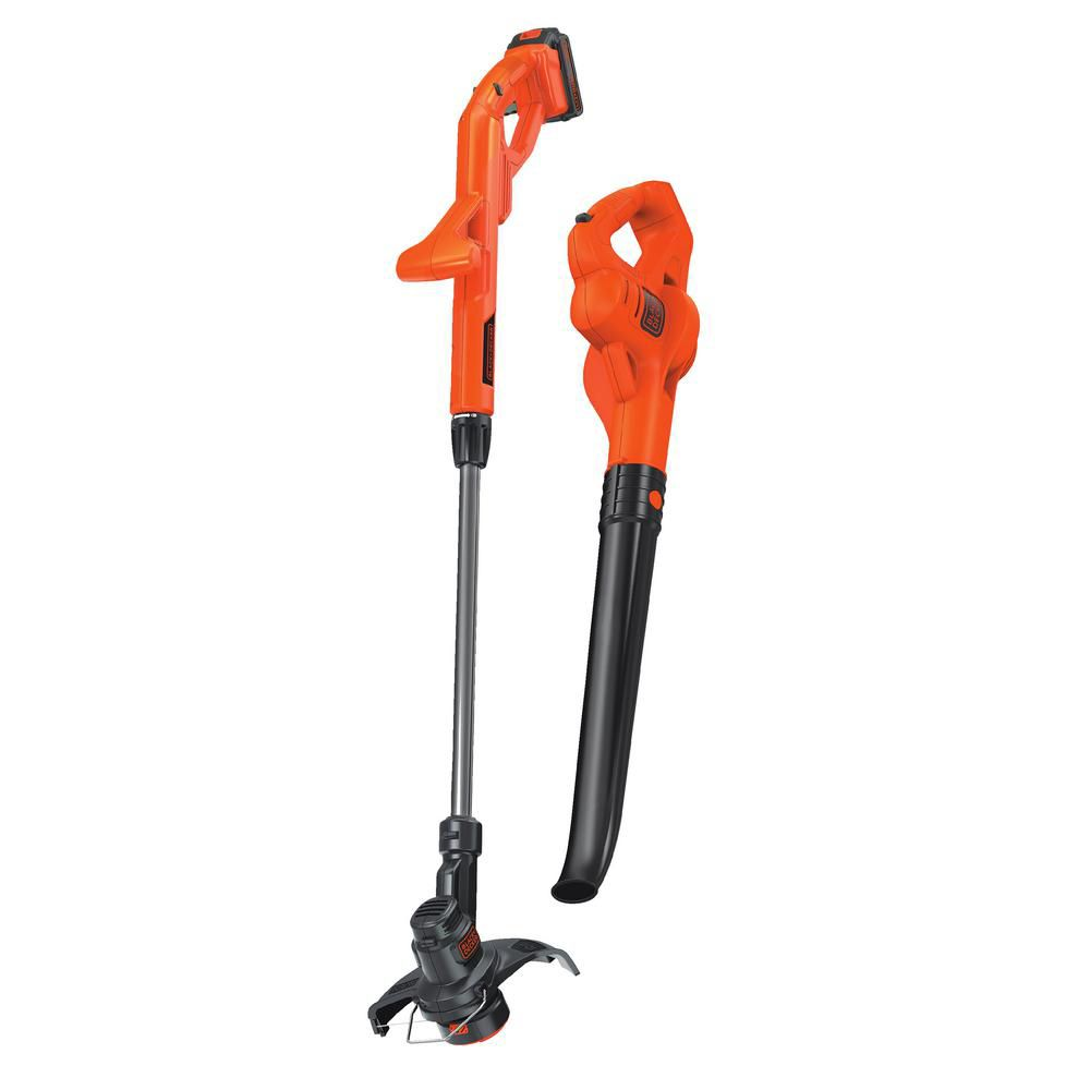 LCC221 20V MAX Lithium 10 Inch String Trimmer/Edger & Hard Surface Sweeper Combo Kit