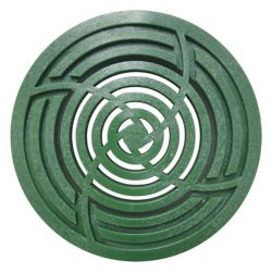 RELN 4 inch Round Green Grate