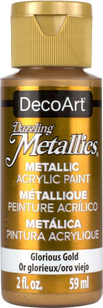 DecoArt Metallic Paint 2oz -Glorious Gold