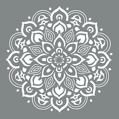 Americana Decor 10-inch x 10-inch Mandala Stencil