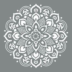 DecoArt Pouchoir DecoArt de 10po Mandala