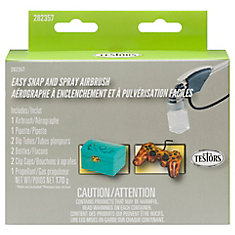 Easy Snap And Spray Airbrush Kit