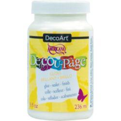 DecoArt Decu-Page Glue-Sealer 8oz -Matte