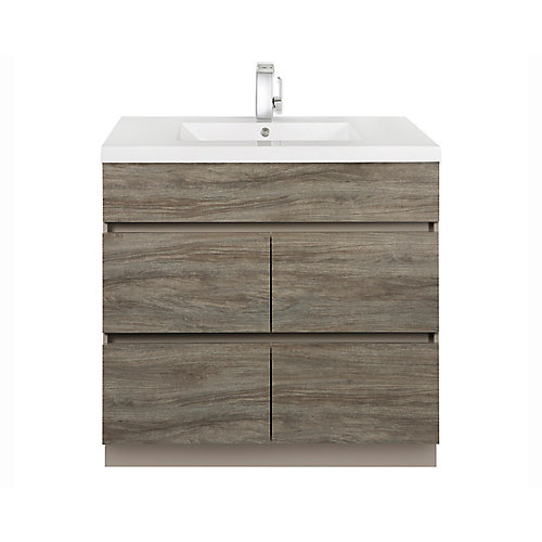 Boardwalk 36-Inch Vanity Cabinet in South Western Daybreak