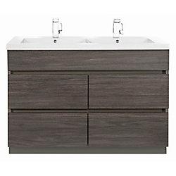 Cutler Kitchen & Bath Boardwalk 48-Inch Vanity Cabinet in Karoo Ash Sundown