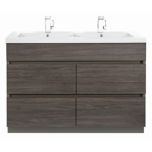 Boardwalk 48-Inch Vanity Cabinet in Karoo Ash Sundown