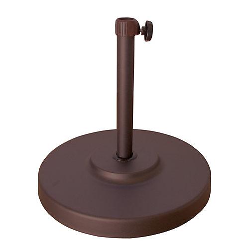 Tubes de Base parasol Bronze 50LBS