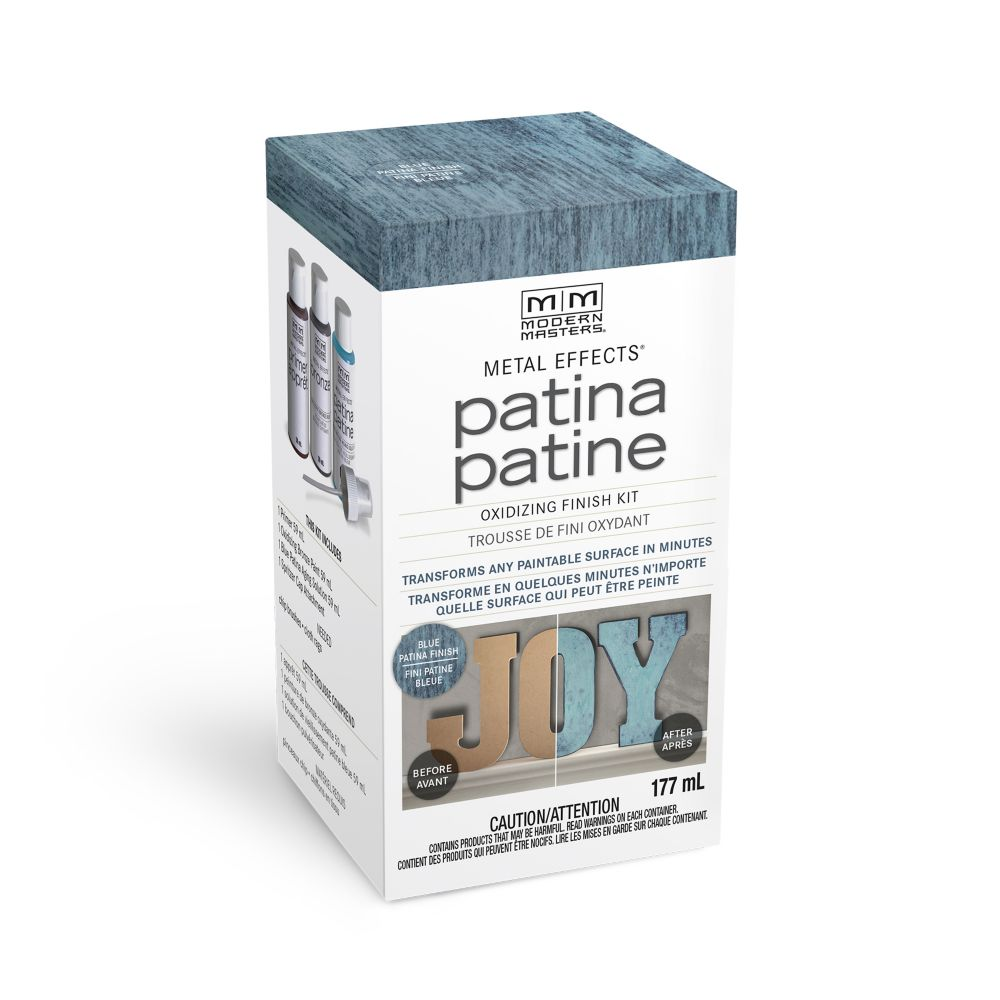 Modern Masters Metal Effects Patina Blue