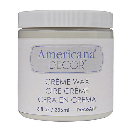 Creme Wax Finish 8oz Clear
