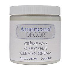 Creme Wax Finish 8oz Clear