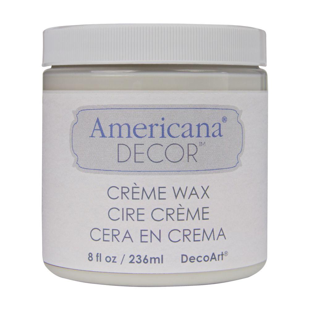 DecoArt Creme Wax Finish 8oz Clear