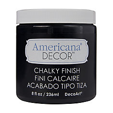 Chalky Finish Paint 8oz -Carbon