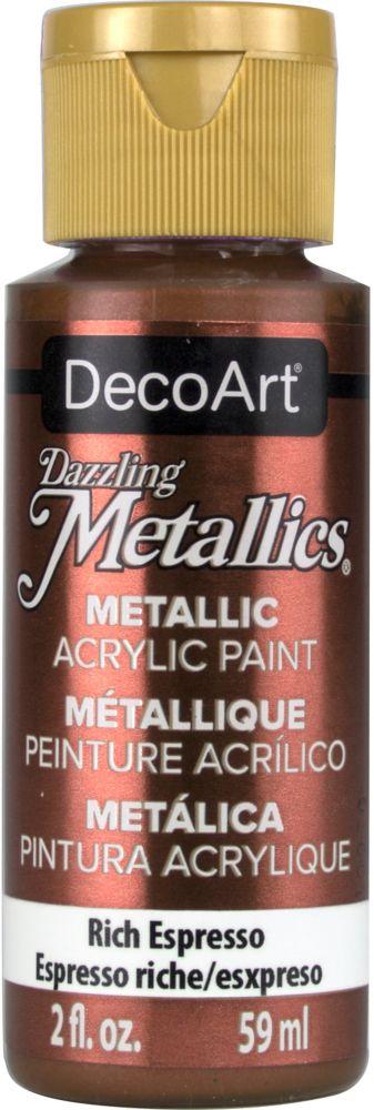 DecoArt Metallic Paint 2oz -Rich Espresso