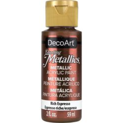 DecoArt Metallic Paint 2oz -Rich Espresso